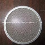 Tejido de malla de alambre de acero inoxidable disco de filtro