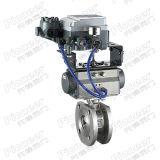 Válvula de bola motorizado V-puerto de vacío Regulador