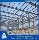 Bastidor de la estructura de acero Prefabricted edificio utilizado en la Casa de prefabricados