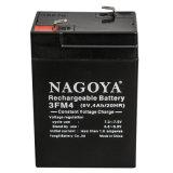 Libre de mantenimiento de alta calidad 6V4ah Batería de plomo ácido
