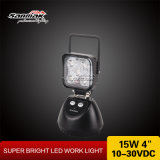 15W 최고 밝은 휴대용 재충전용 번쩍이는 LED 일 빛