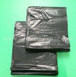 Sacs de détritus en plastique dégradables recyclables sur le roulis, qualité