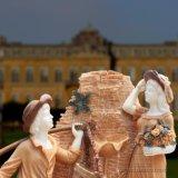 De Marmeren Fonteinen van Natura met het Standbeeld van Kinderen voor Tuin