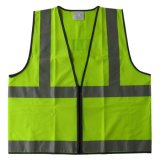 Het hoge Vest van de veiligheid van het Zicht Fluorescente Weerspiegelende