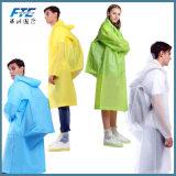 성인의 방수 폴리에스테 PVC 비옷 옥외 Worwear