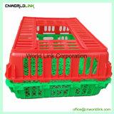Boîte de poulet de transport de volailles en plastique pour la vente