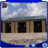 Constructions en acier faciles de grande envergure d'installation de coût bas pour le garage