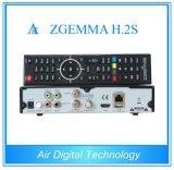 HD 인공 위성 수신 장치 2 조율사 DVB S2/S 인공위성 측정기 접시 없음 Zgemma H. 2s