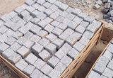 De populaire Straatsteen van de Kubus van het Graniet van het Landschap Natuurlijke Kleine Witte