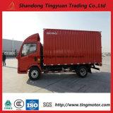 HOWO 5 toneladas de mini caminhão com cargas opcionais