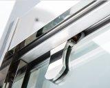 Pega de aço horizontal chuveiro de Derivação do ecrã da porta corrediça