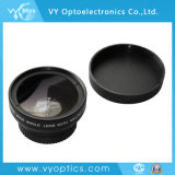 Cámara teleobjetivo/gran angular/lente ojo de pez para Sony, Canon