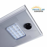 IP65 Resistente al agua de alta luminancia Integrated solar Calle luz LED 15W