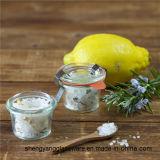 O frasco de vidro do produto comestível, molde selou o frasco, atolamento do alimento, frasco de mantimento fresco, potenciômetro do armazenamento da cozinha