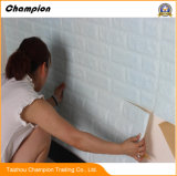 Papier peint blanc de vente chaud mural neuf chaud de brique de nouveaux produits de papier de mur de briques de mousse de PE de 3D Wallpaper/3D