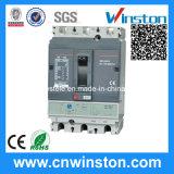 500/800V Stroomonderbreker van de Bescherming van de Lekkage van het Geval van de Reeks van NS de Regelbare MCCB Gevormde met Ce