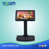 Hohe Auflösung LCD2x20 schwarze USB-Positions-Systems-Abnehmer-Bildschirmanzeige