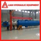 Tipo médio personalizado cilindro hidráulico do pistão da pressão para o projeto da tutela da água