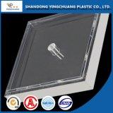 Lámina de acrílico transparente uso de materiales de construcción