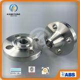 Norme ANSI B16.5 304L 316L d'ASTM A182 moulant la bride de Wn de bride d'acier inoxydable (KT0340)