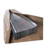 30 Jauge recouvert de zinc en acier ondulé tôle de toit de tuile de toit