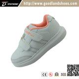 De Tennisschoen die van de Schoenen van jonge geitjes Toevallige Witte Schoenen 20296-3 in werking stellen van de Sporten van Schoenen
