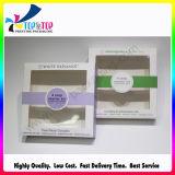 Caixa de cartão dobrável adorável para pequenos boiões de velas