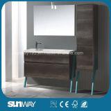 Самый новый европейский шкаф ванной комнаты меламина 2016 с зеркалом