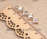 주문 형식 금속 금관 악기 다이아몬드 모조 다이아몬드 지퍼 끌어당기는 사람 의복