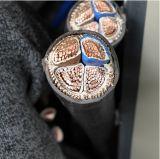3*4+1*6+2*12 AWG алюминиевого кабеля с ПВХ изоляцией куртка алюминиевых AWG кабель для Мексики