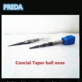 OEM конус из карбида вольфрама шарик нос инструменты для станков с ЧПУ из дерева