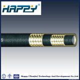Boyau en caoutchouc hydraulique à haute pression flexible de SAE R2at