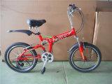 20'' de aleación de la rueda de bicicleta plegable con bastidor de la plegable de acero (AOKFB008)