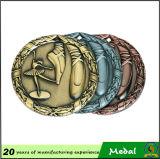 Ribbon를 가진 주문을 받아서 만들어진 Logo 3D Metal Medals
