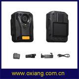 Bouwde de Versleten Camera van de Politie van IRL 1080P van de Visie van de Nacht van Ambarella A7 IP65 Lichaam GPS in