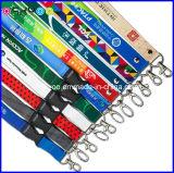 Supporto di nylon della cordicella della carta di identificazione di stampa di scambio di calore di alta qualità