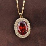 بالجملة رفاهية أحمر حجارة [18ك] نوع ذهب نمو مجوهرات مجموعة