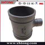 FM/UL/Ce aprobada Black Tee reductora para el sistema de combate de incendios