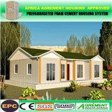 태양 전지판을%s 가진 EPC에 의하여 주문을 받아서 만들어지는 Prefabricated 강철 구조물 콘테이너 집