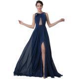Abend-Kleid-Damen kleiden Sleeveless Abend-Kleid-langes Kleid