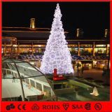 H: Shopping Centerのための5mアセンブルChristmas Ball Motif Lighting Artificial Tree