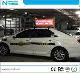 O dobro tomou o partido indicador de diodo emissor de luz móvel de anúncio superior do táxi ao ar livre da cor P5 cheia