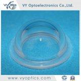 Optische fixierte Quarzglas-Abdeckung mit Flansch