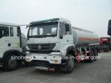 caminhão do depósito de gasolina das macas de 371HP Sinotruk HOWO 25000 para a venda