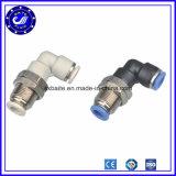 Le coude du tube d'air connecteur rapide du connecteur de raccords de tuyau