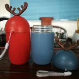 Творческие Sika оленя форма стеклянная бутылка воды для рождественских подарков