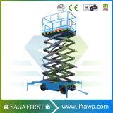 Elektrisches Laufwerk- Hydraulikanlage-vertikales Mobile Scissor Aufzug