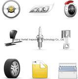 オートバイは点検またはVehilceの部品の点検またはトラックの部品点検かトラクターの部品の点検または前に郵送物の点検またはサード・パーティの点検サービスを分ける