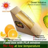 2013 Fast Food Box Packaging avec fenêtre Antifogging (K52)