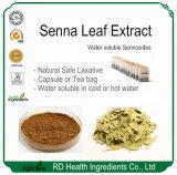Perder peso natural laxante natural Extracto de la hoja de sen
